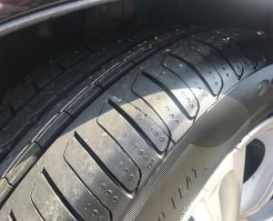 BMW F10 タイヤ