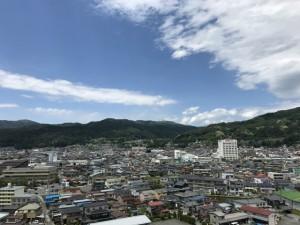 下諏訪町の風景